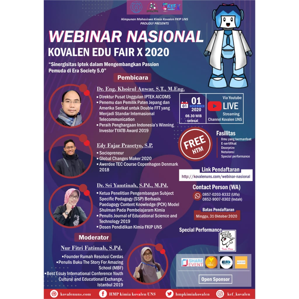 KOVALEN EDU FAIR X : CALL FOR LOMBA POSTER DIGITAL NASIONAL PCl5 image 3
