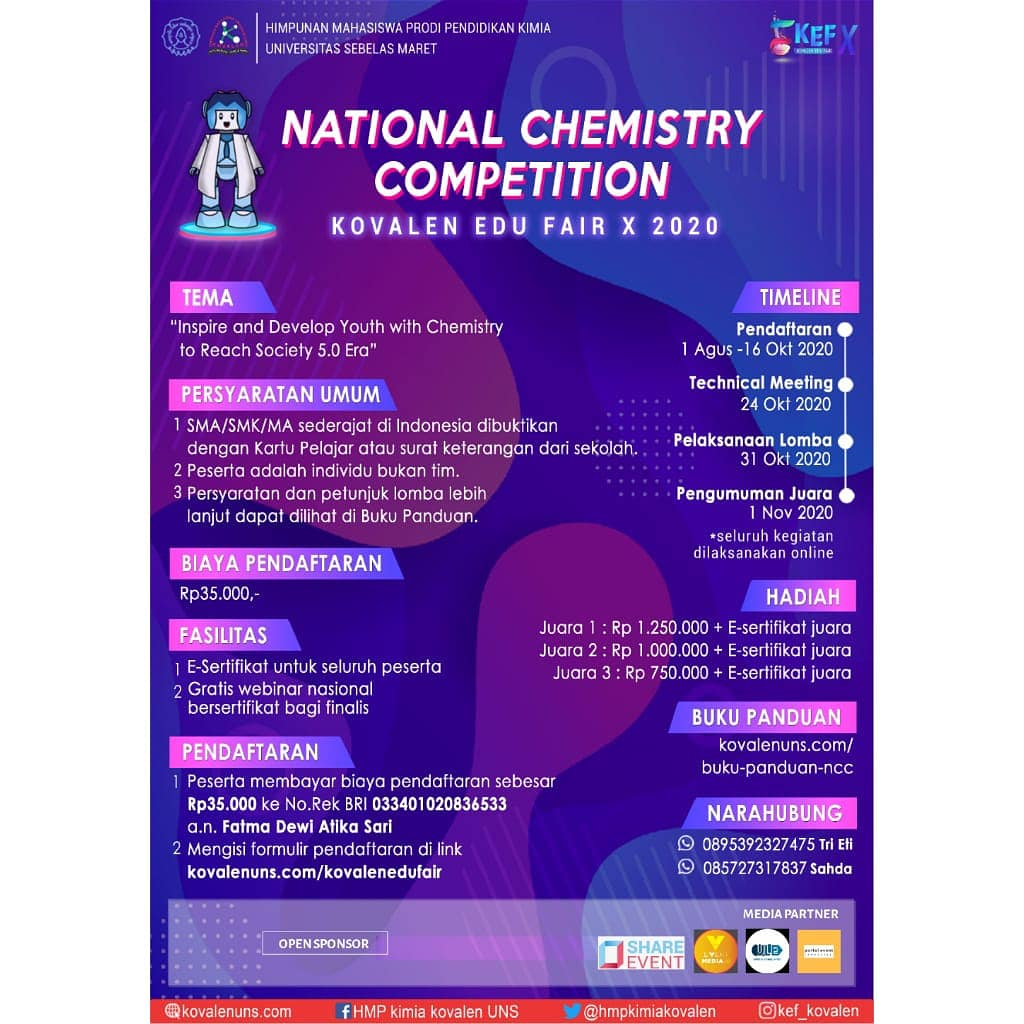 KOVALEN EDU FAIR X : CALL FOR LOMBA POSTER DIGITAL NASIONAL PCl5 image 4
